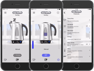 AppKettle - Easy to use App. You can even name your kettle!