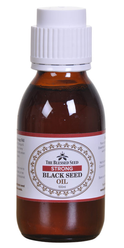 The Blessed Seed STRONG Black Seed Oil.