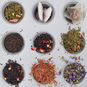 Herbal teas can be made with teabags, dried or fresh herbs
